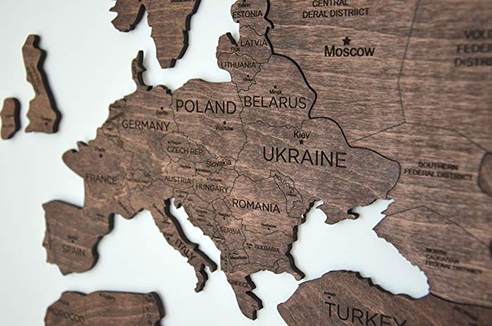 Image taken from Amazon for the Wooden Airplane Push Pin MAP!! (High on my list for sure!!)