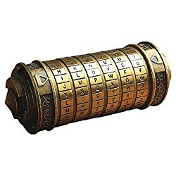 Da Vinci Code Cryptex- amazon 50.99