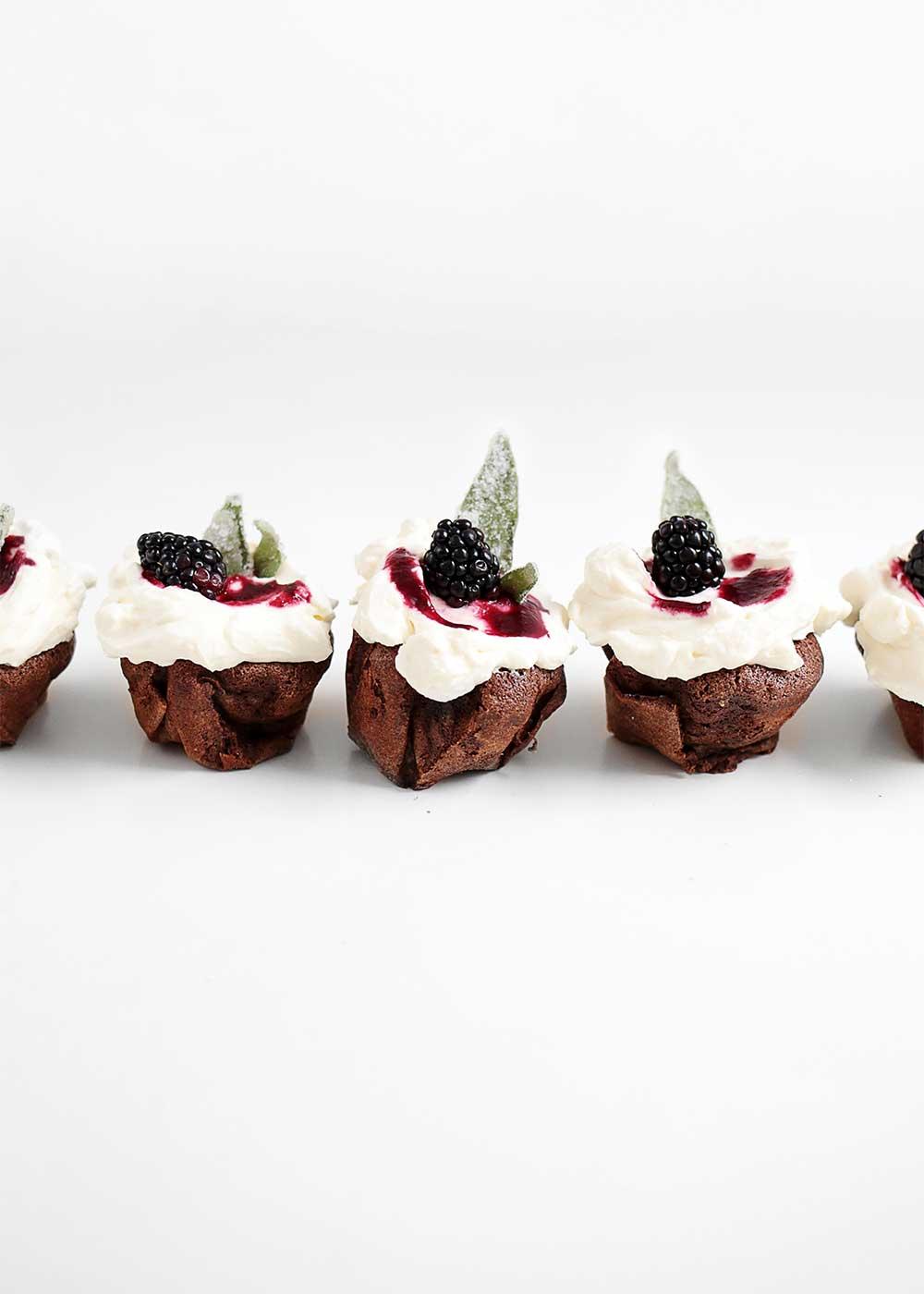Flourless cupcakes