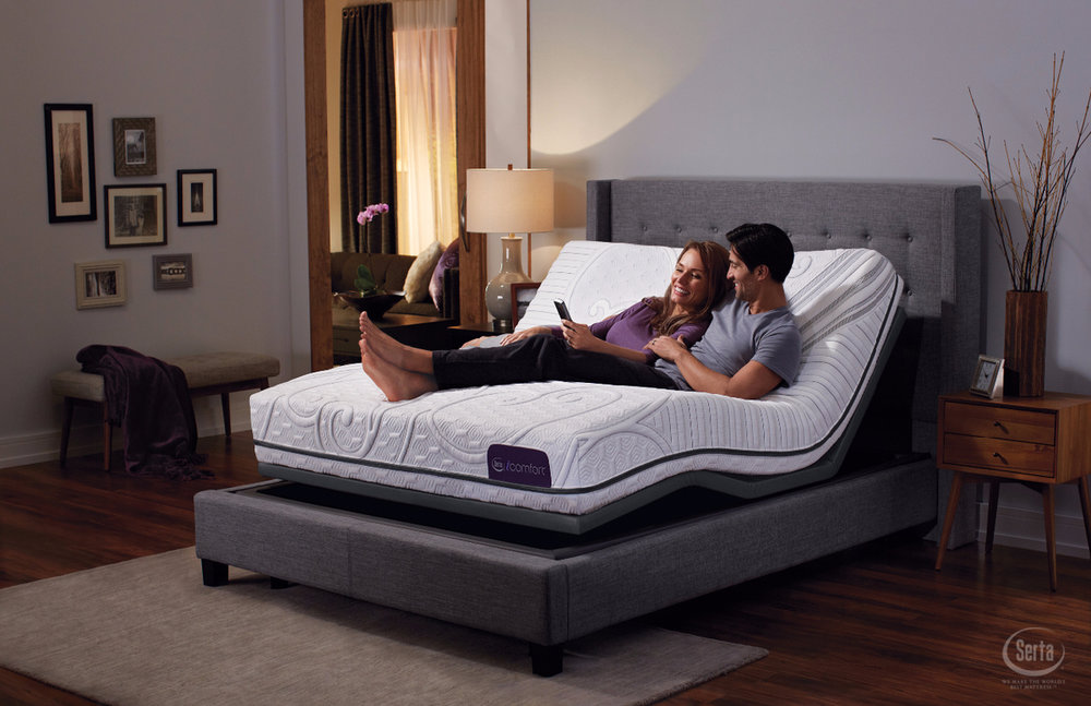 SERTA - Everyone deserves a mattress that responds to their changing comfort needs.