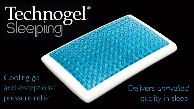 TechnoGel Pillows - Supporting Sleepy-Heads Everywhere!