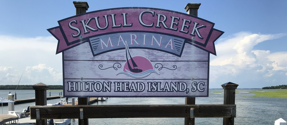 Skull Creek's fish cleaning table is ready for your catch!