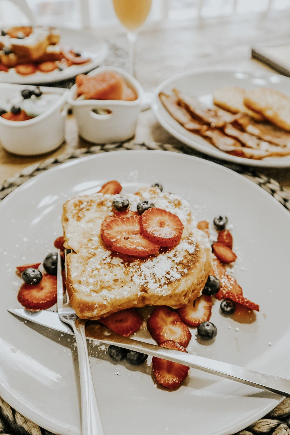 how to make strawberry french toast -