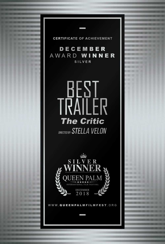QPIFF SILVER AWARD CERTIFICATE - BEST TRAILER - SIDE B.png