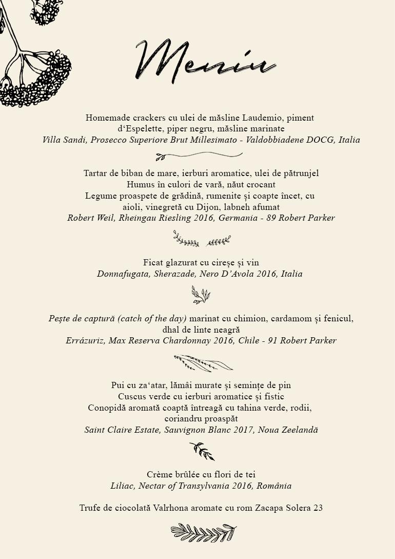 - Noul eveniment Convivial • Tasting table continuă seria cinelor relaxate la Mazilique Studio.Aceasta va avea loc vineri, pe 22 iunie și vom pregati un meniu inspirat de vară, unde Cristina abia s-a abținut să includă ligheane cu cireșe, dar tot a strecurat o plimbare sub tei transformată într-un crème brûlée delicat și parfumat.La toate acestea am asortat un wine paring cu unele dintre vinurile noastre preferate._Fee: 280 leiOra 19:30Locurile sunt limitate, iar confirmarea se face în ordinea înscrierilor.Pentru întrebari și rezervări: studio@mazilique.ro / 0742 802 044