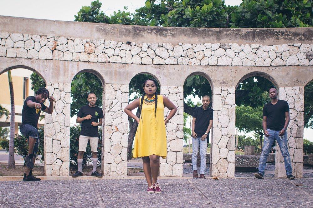 Equiknoxx - L-R - Kemikal, Gavsborg, Shanique Marie, Time Cow & Bobby Blackbird - Credit - Jik Reuben - Kingston, Jamaica.jpg