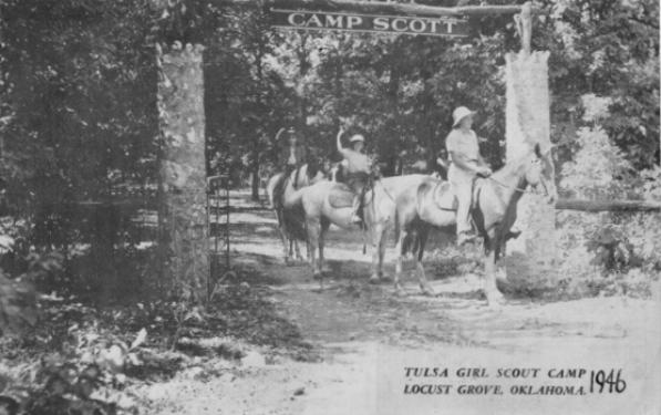 Camp Scott leaflet cover, 1946 (Source: http://www.campscottmurders.com/home.html)