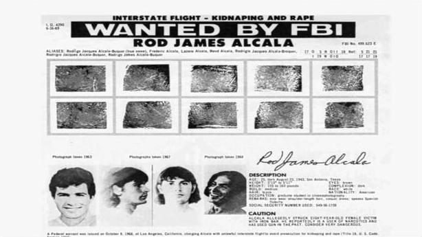 Alcala's FBI Wanted Poster (source: CBS News)