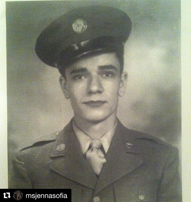 Our fave ❤️ #Repost @msjennasofia with @get_repost ・・・ This beautiful soul is my grandfather, Salvatore Joseph Pantozzi. I am beyond grateful to have grown up basking in his warm glowy presence. He's the subject of my first film! Thanks to him and all the other veterans for their service and bravery. #veteransday2018 #breakthecamerafilm #thankyou #worldwar2