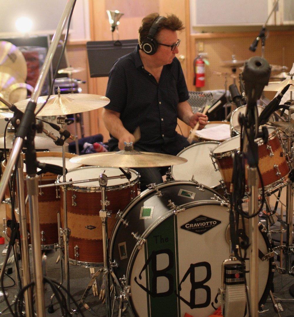 Bernie at drums - Sunset.jpg