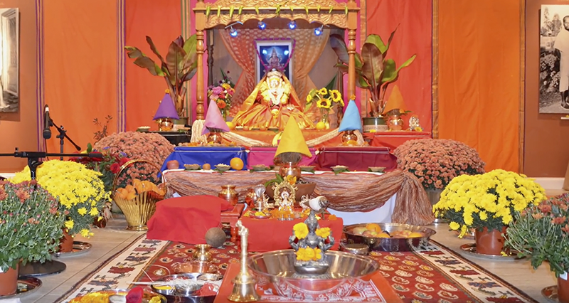 Puja with Devi.png