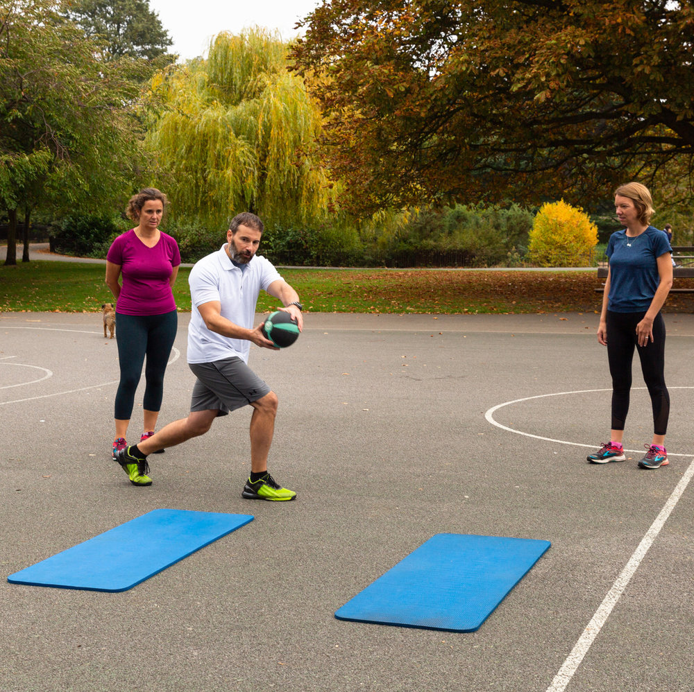 Small Group Personal Training Medicine Ball Hammersmith