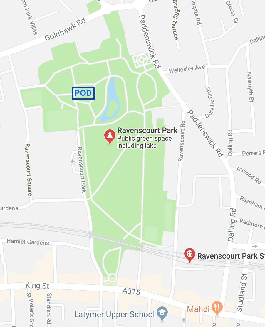 Ravenscourt Park Pod