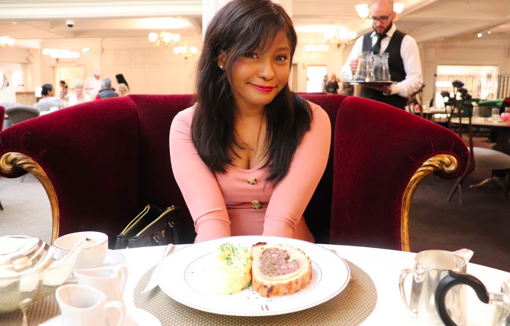 High tea at harrods x