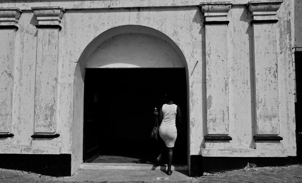 Jamestown Prison , Accra, Ghana