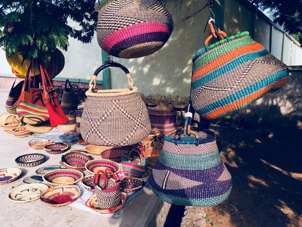 Bolgatanga Baskets, Togo Roundabout