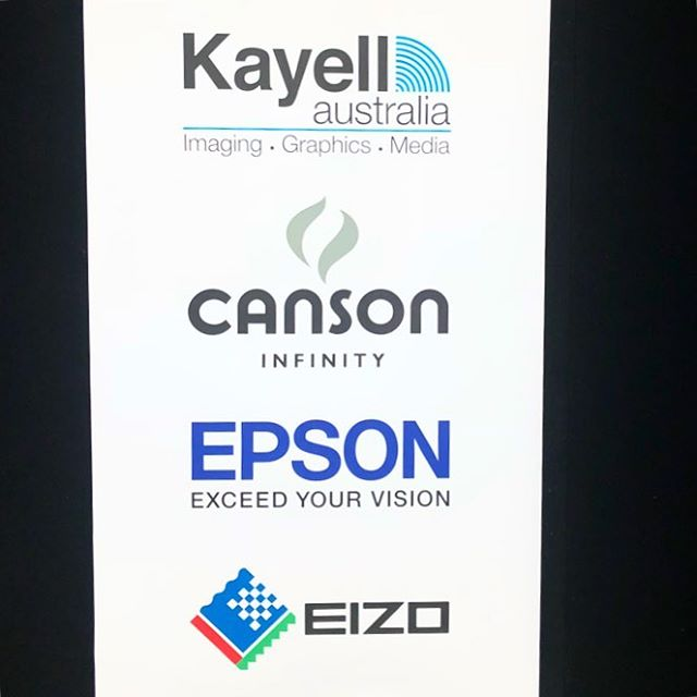 What awesome industry partners we have. Our lab relies heavily on the awesome products and service from @cansonau @epsonaust and @eizo_apac! Massive thank you to @robdgatto from @kayellaustralia for always supporting our business and for an amazing tradeshow at the #babysummit2018 and your amazing generosity for the #risephotographyawards gala dinner. #photographyindustry #industrypartners #fineartprinting #thankyou