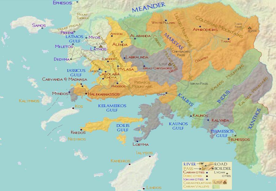Caria ca 500 BC