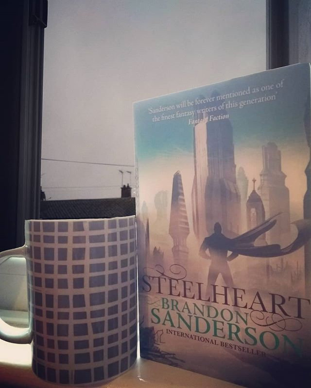 Do you prefer 1st person or 3rd person? 🤔 . I've been wanting it to rain all week and now it's pouring down on a Sunday morning, so I can get cosy and read. . What are you reading? Hope you've had a great week! . . #bookstagram #sundayreading #superhero #brandonsanderson #book #amreading