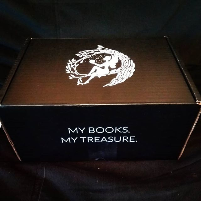 FAIRYLOOT DECEMBER 2018 UNBOXING  Spoilers ahead for this months box.  I was really looking forward to this months box. Who doesn't love dragons!! I am super excited to dig into BOTH books we got. Including an ARC not available until September 2019 😱  One book has a thief and heist element which I adore and the other has elemental magic which I'm a sucker for!  Also it has a book sleeve and I was literally looking at buying one the other day so this perfect timing!! #fairyloot #fairylootunboxing #unboxing #bookish #dragons