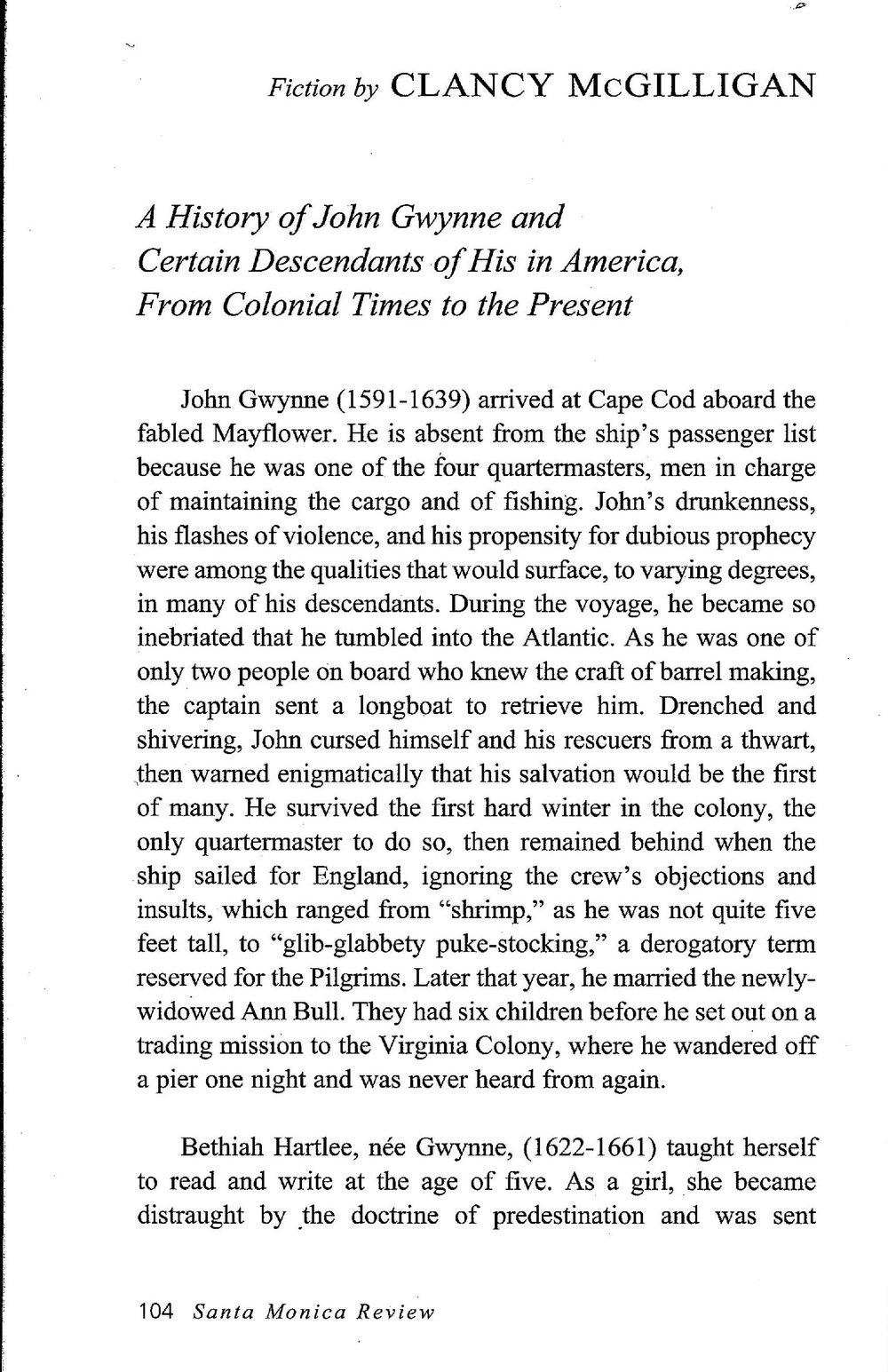 Clancy McGilligan - A History Page 1.jpg
