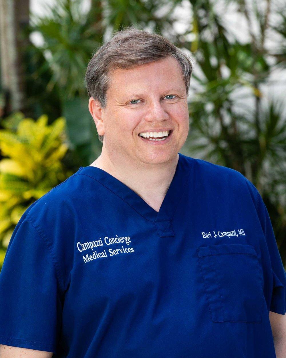 Earl Campazzi, Medical Doctor