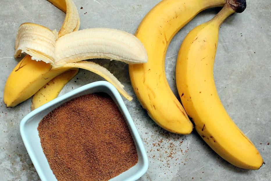 coconut sugar and bananas