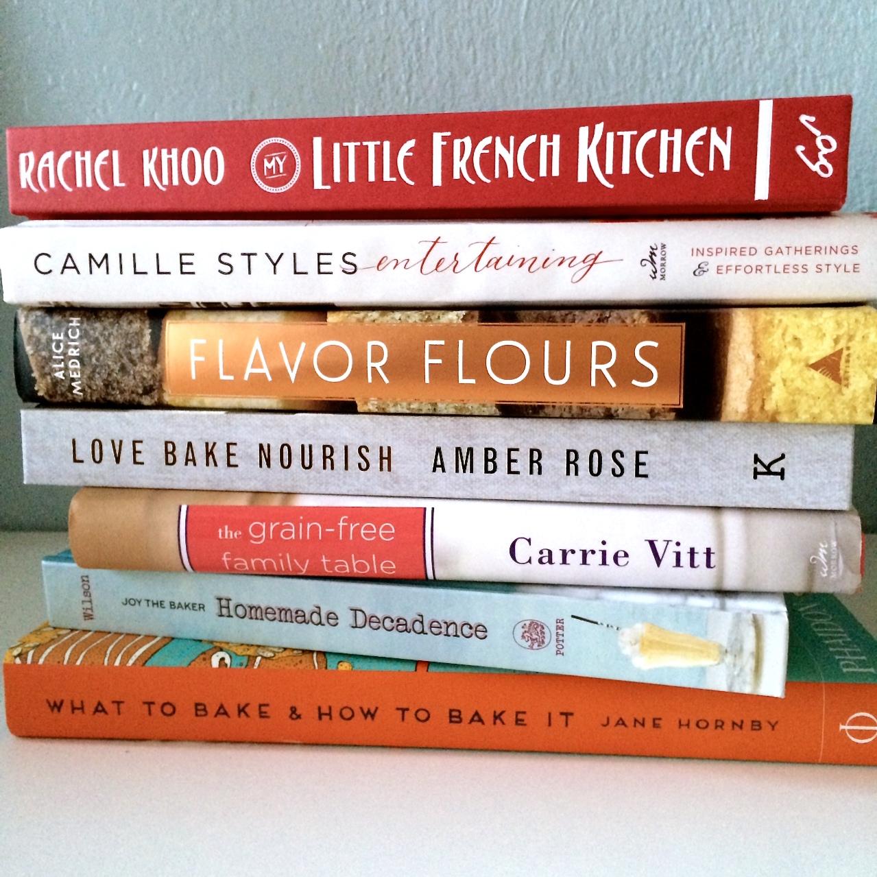 cookbook stack