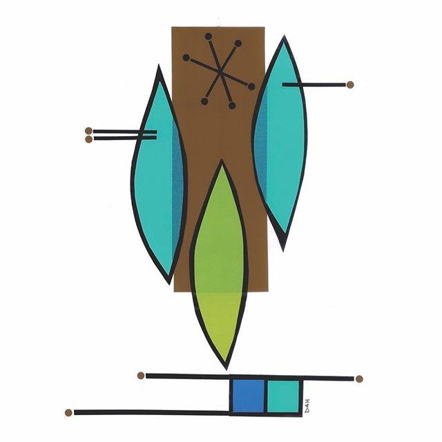 """""""Surf's Up""""  #art #modern #collage #midcentury #artwork #artist #local #sandiego #interiors #interior #design #interiordesign"""