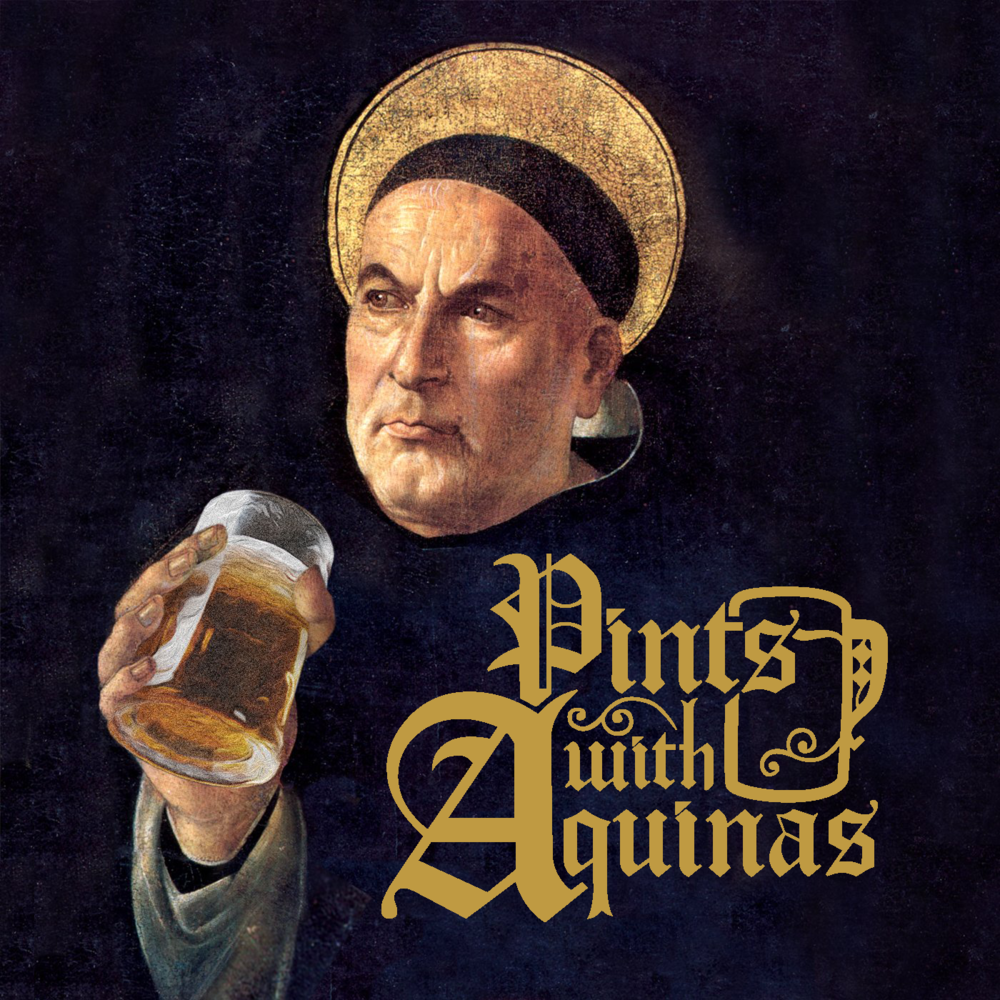 Pints With Aquinas Logo Update