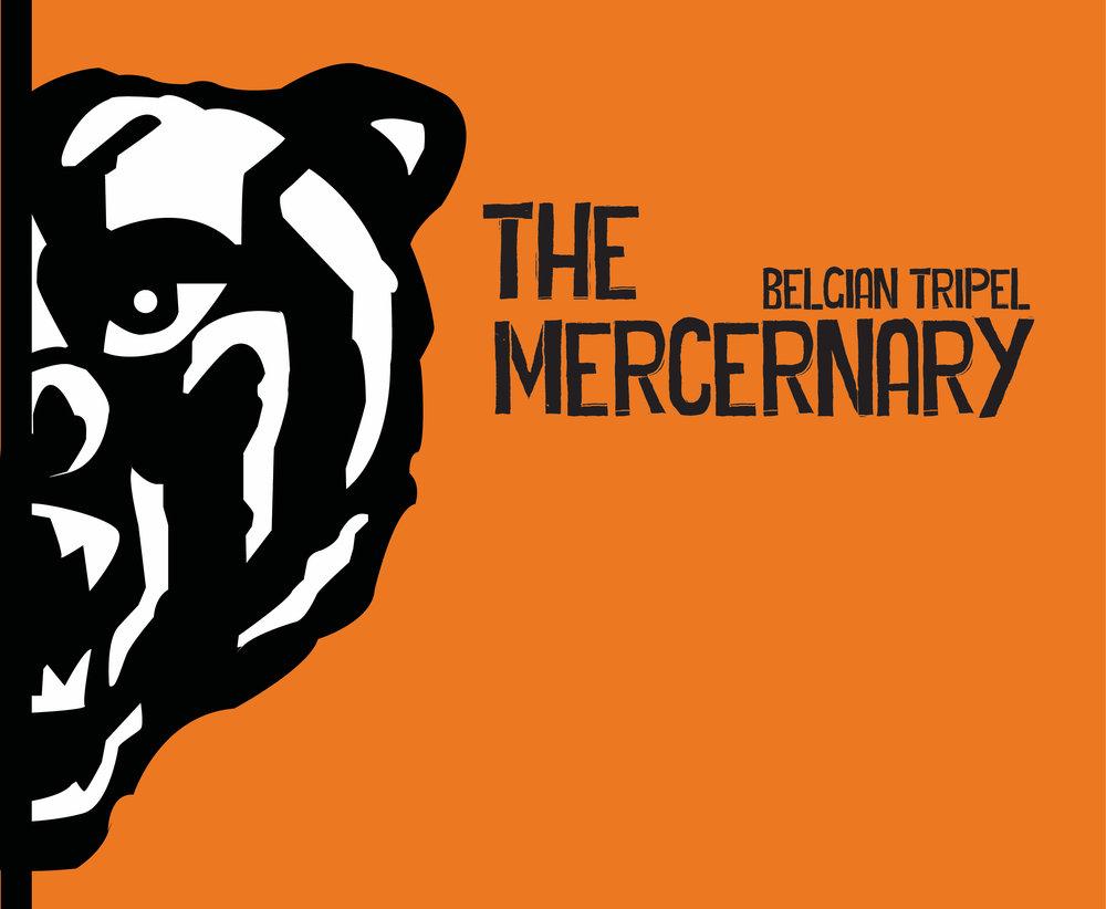 The Mercernary Beer Label