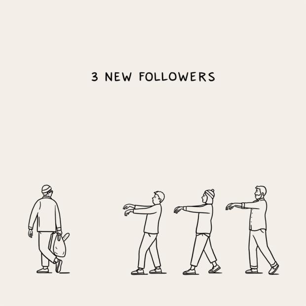 3 new follow