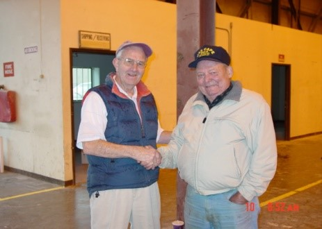 Bob Moors and Art Nordvedt in 2004.