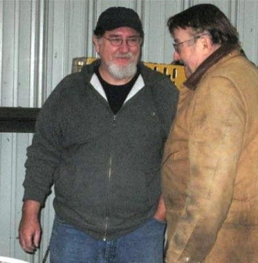Dave on the left and Tom Restimayer in 2006.