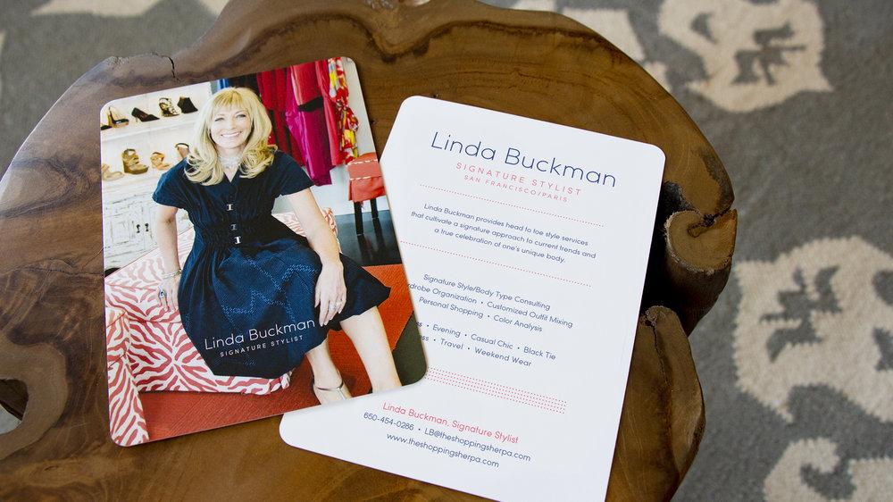 Linda Buckman Postcard