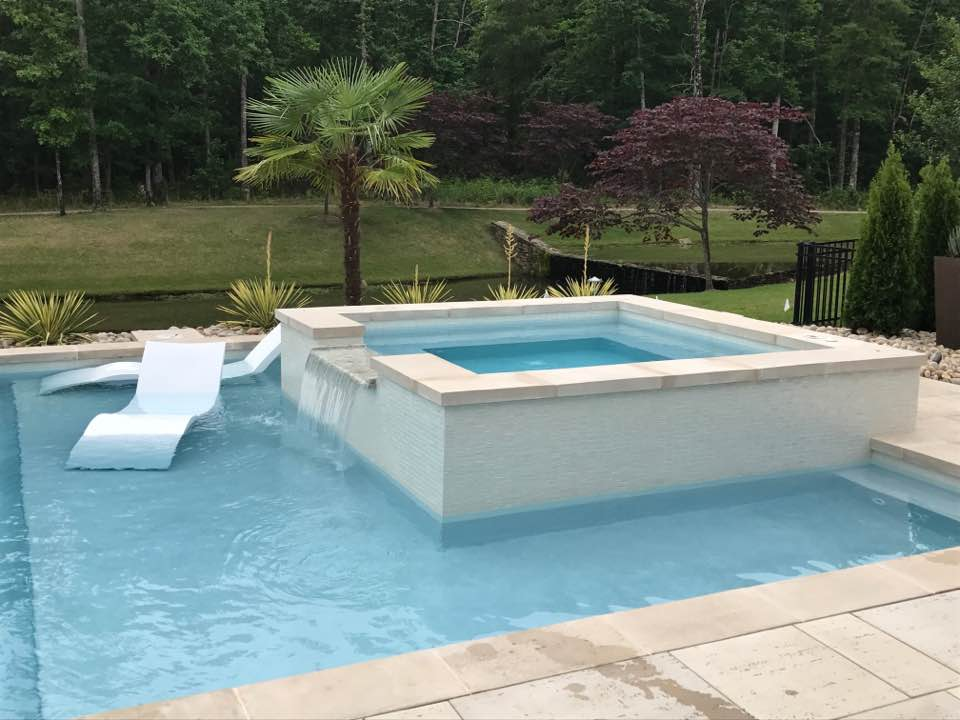 Home pools and Spas - Get more information and see examples of beautiful home pools and spas.
