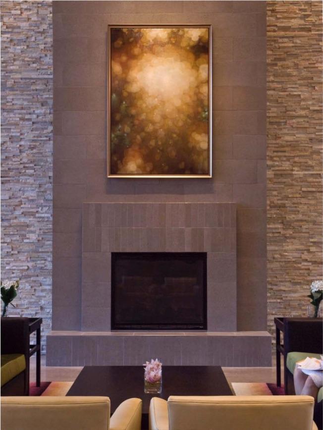 Jenn Shifflet,  Resplendant,  oil on canvas, 72 x 48 inches