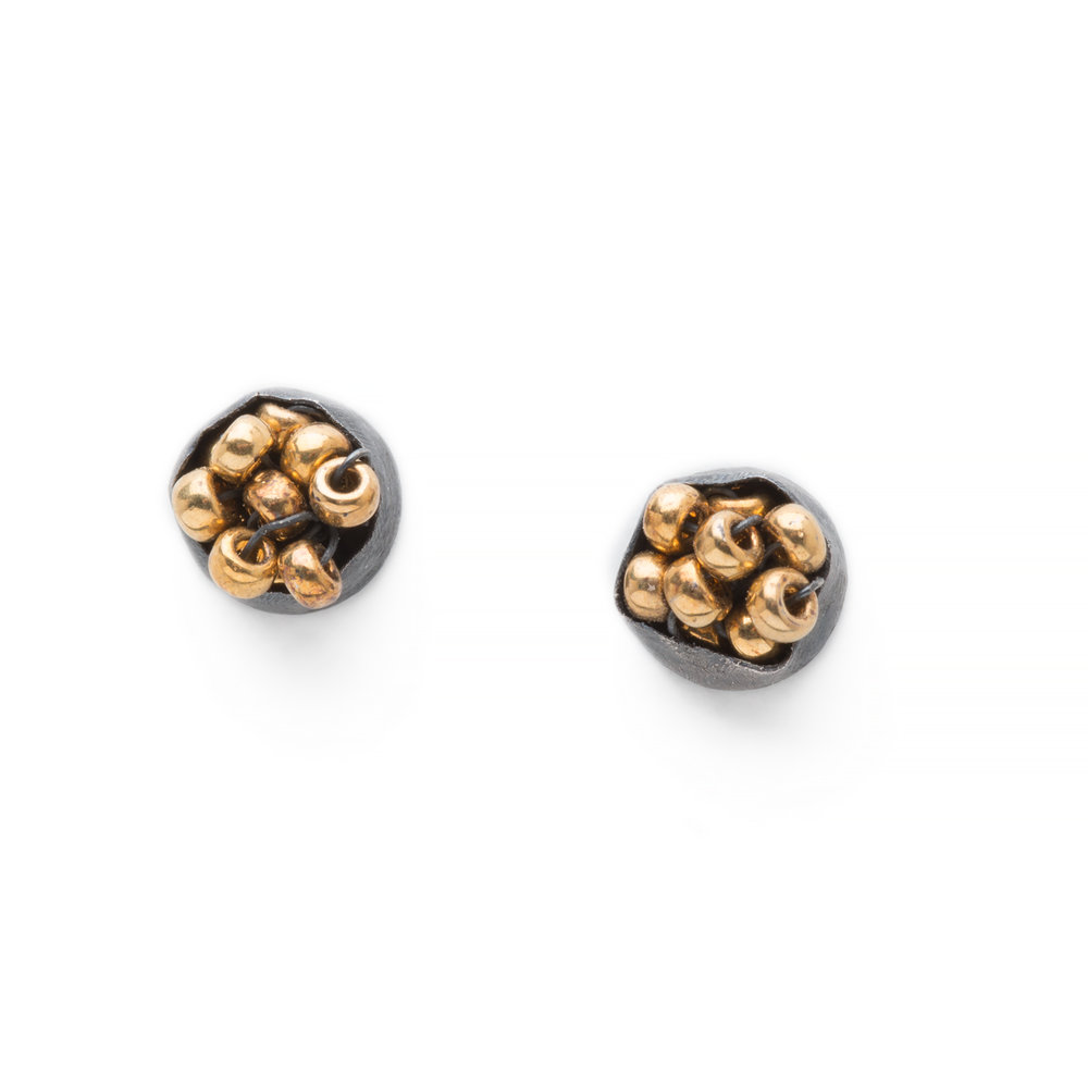 Beaded Cluster Studs
