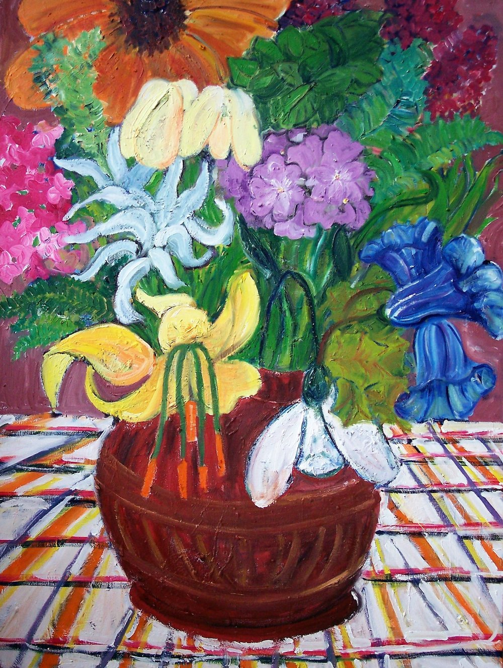 Flowers (36 X 48)