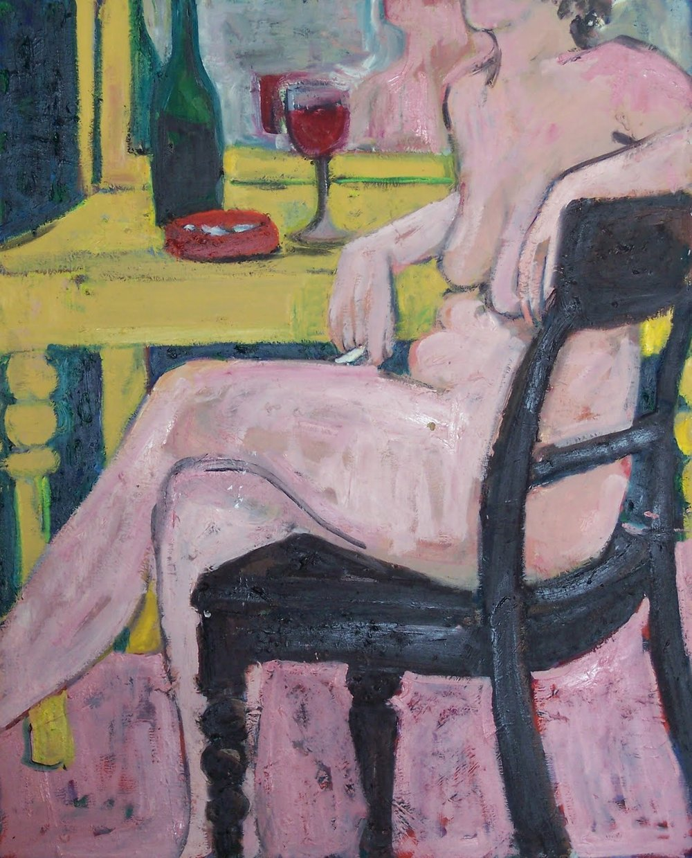 Nude Smoking (30 X 24)
