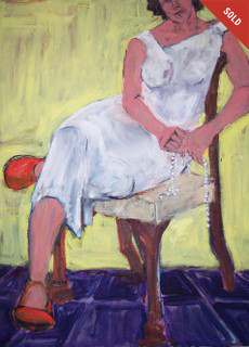 """SEATED WOMAN"""