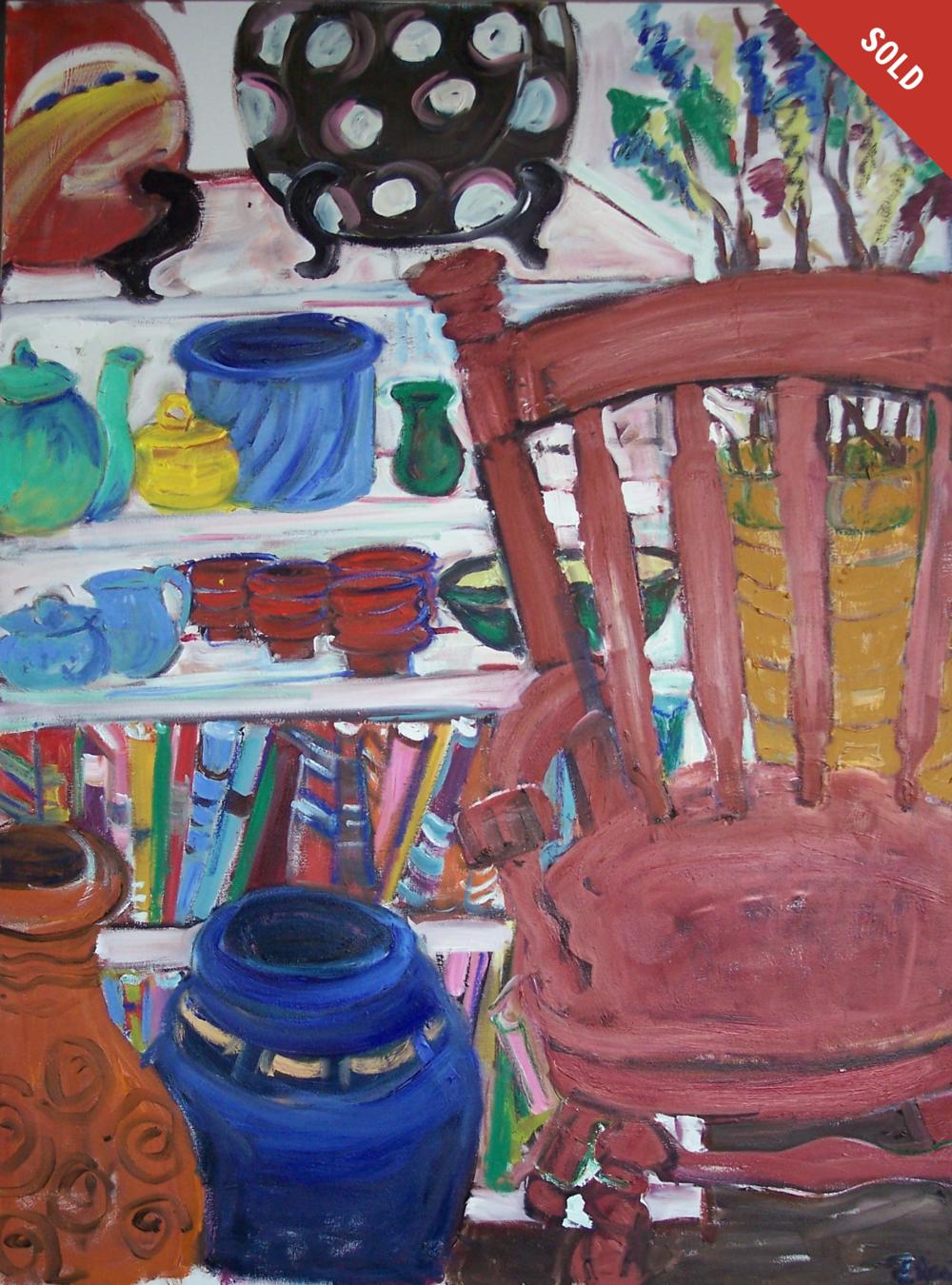 The Studio (48 X 36)