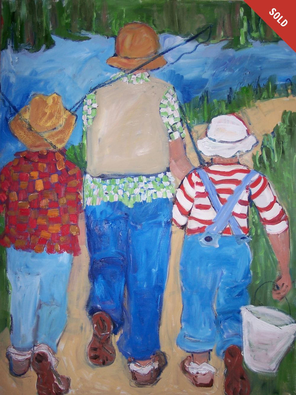 The Fishing Trip (36 X 48)