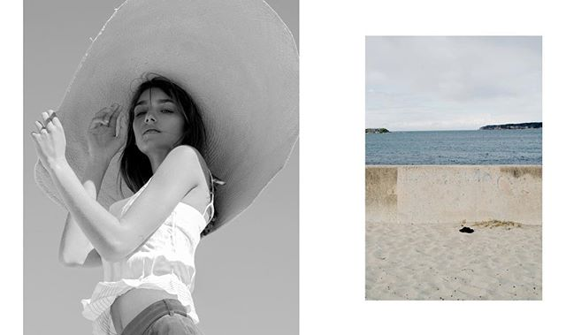 SEAPORT for @black_mag  Photography @rayranoa  Talent @estherodfer  Styled by me Beauty @lorellagianninimakeupartist  Hair @matthewroganhair ⏬ Top @_interval_ via @internationalfashiongroup  Cord pants @agjeans  Hat @sarahjcurtis.collections via @bespoke_pr