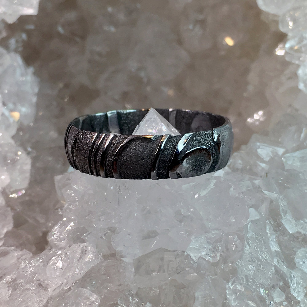 Damascus Rings -
