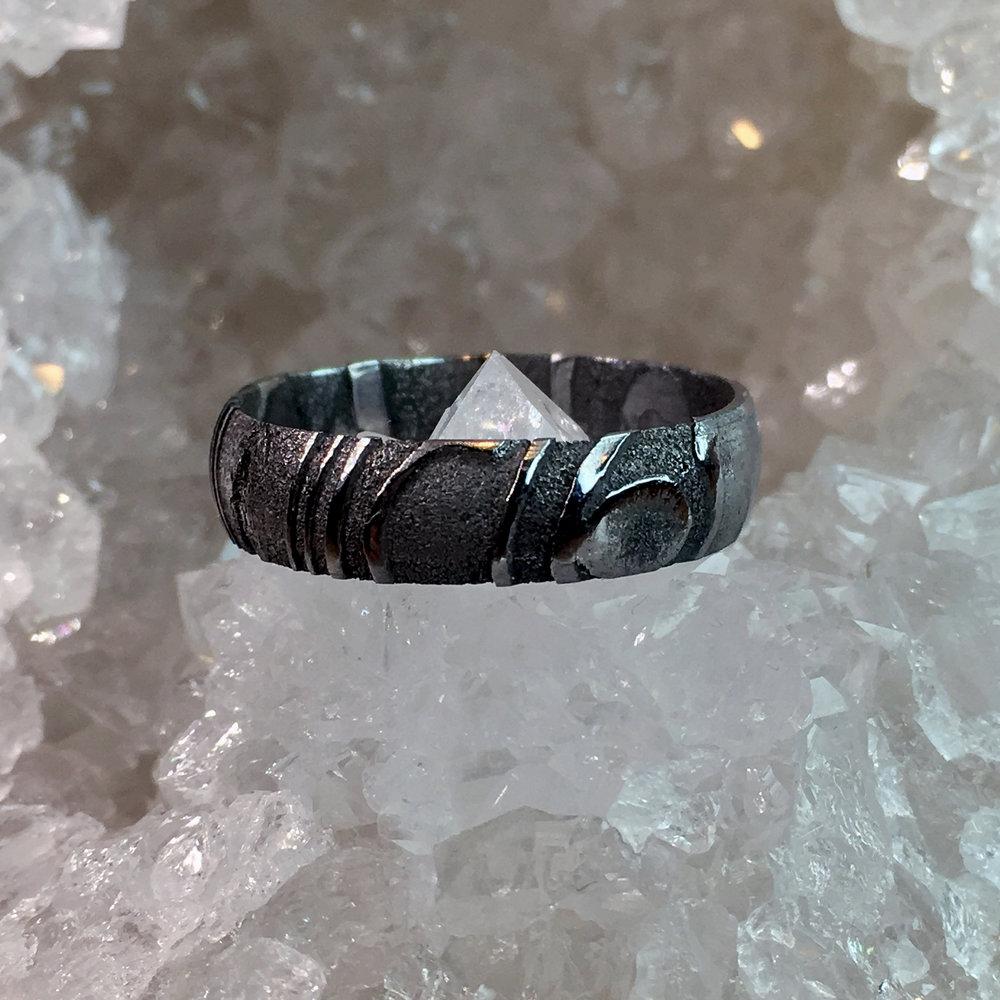 Damascus Rings -