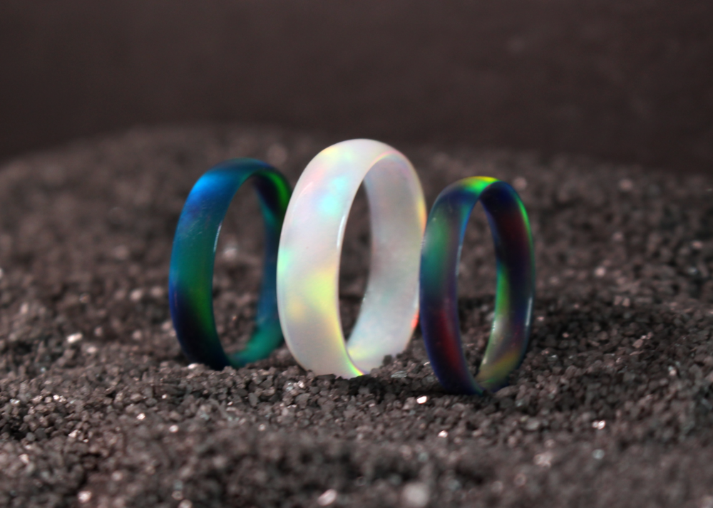 Opal Rings -