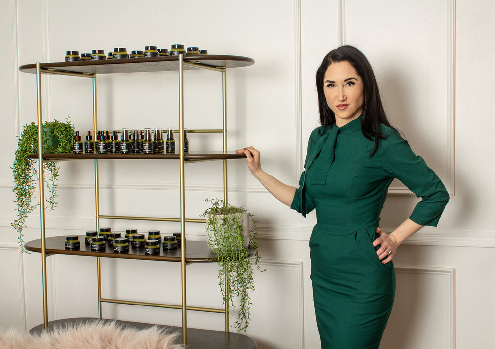BRIGITTE TOLSON - Founder of Green ChemistryI began my journey in esthetics as a cosmetic surgery consultant and professional makeup artist in my hometown of Los Angeles in the 1990's, and soon after joined forces with a friend to start a day spa in Palm Springs. Upon starting the spa I found a natural passion for skin care, and enrolled in the International School of Beauty to become a Medical Esthetician. I quickly found my own personal experiences with Ayurveda and holistic medicine fueled my passion to incorporate this into my skin care practice, and moved back to West Los Angeles to specialize in acne and systemic issues of the skin.After years of research and collaboration with chemists, dermatologists, and herbalists, we created Green Chemistry with a mission to provide clinically proven ingredients with a focus on holistic medicine and naturally sourced botanicals at their peak quality. My mission was to create products that compliment the range of products I already offer my clients, and provide unique formulations I see lacking in the clinical skin care industry, rather than recreate formulations that already work well for my clients needs. What initially started as two of the most nutrient rich serums on the market, has evolved into a line that now makes a scientifically proven toxin-free hyper pigmentation treatment, along with a mask that draws city pollutants from the skin, and a rich anti aging night cream that even surpasses my expectations.My lifelong passion has always been connecting with nature and animals, so I felt it fitting contribute a portion of our sites sales to benefiting bees, which pollinate most of the ingredients we source, not to mention much of the food we grow in the USA.I continue to practice in West Los Angeles and offer a range of facial treatments that address the most challenging skin concerns.
