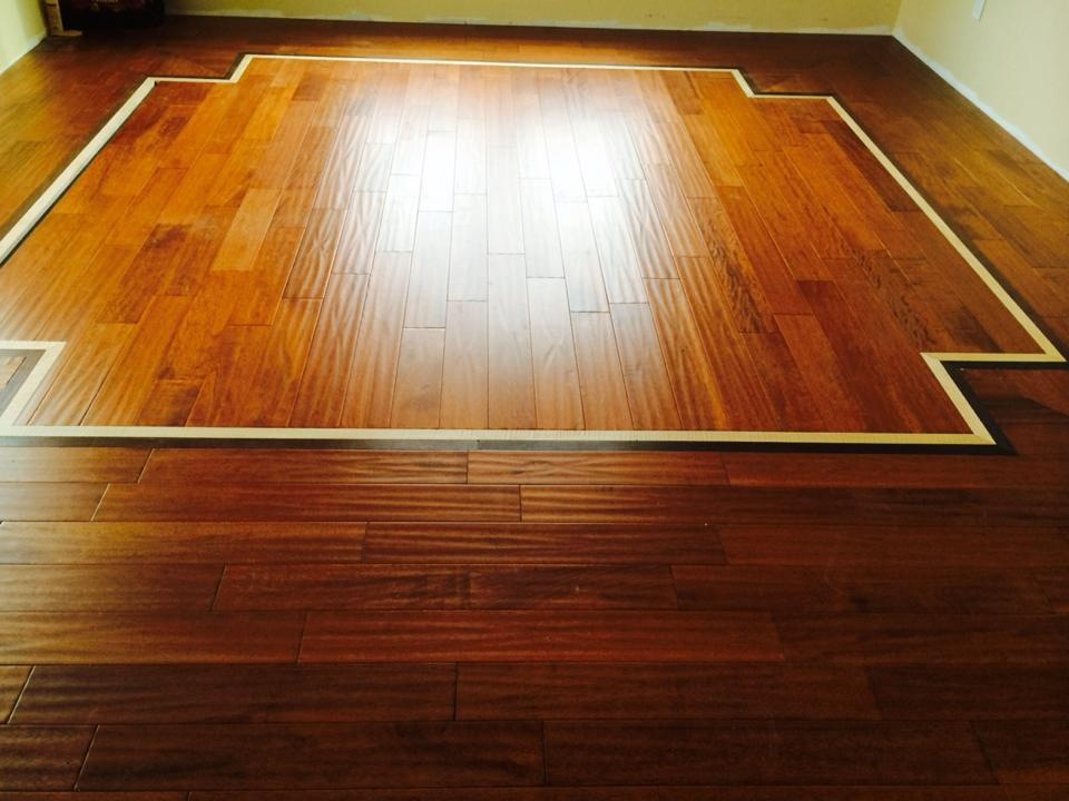 Hardwood Flooring Borders Inlays Evergreen Hardwood Floors