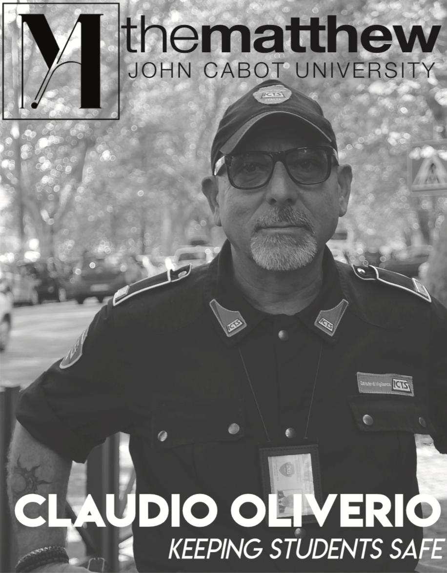 October 2018 - Claudio Oliverio, ICTS Security, Tiber Campus